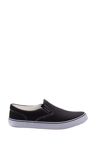 Hush Puppies Black Byanca Slip-On Shoes
