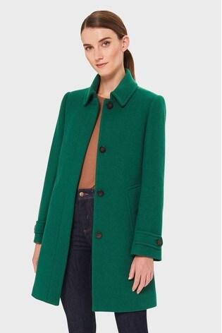 Hobbs Pine Green Juniper Coat