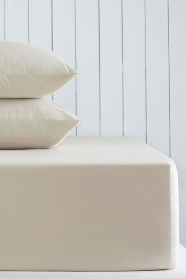 Extra Deep Fitted Cotton Rich Sheet
