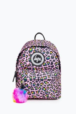 Hype. Rainbow Leopard Mini Backpack