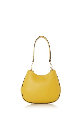Dune London Yellow Dinidemillie Synthetic Shoulder Bag