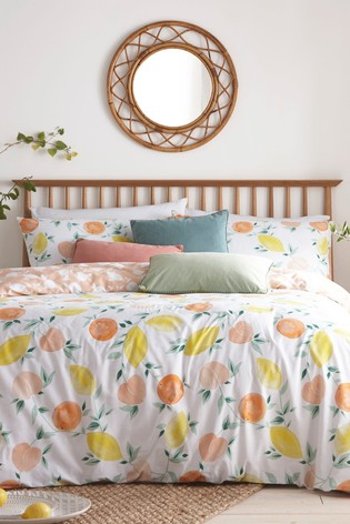 Furn Grey Pommie Duvet Cover and Pillowcase Set