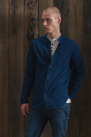 Superdry Henley Workwear Shirt