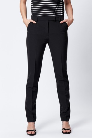 M&Co Black Classic Slim Trousers