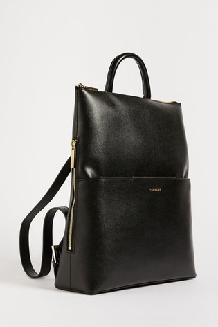 Ted Baker Kryshia Saffiano Bar Detail Backpack