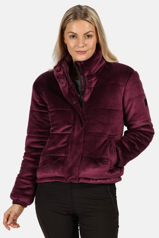 Regatta Kimberley Walsh Edit Purple Elbury Padded Jacket