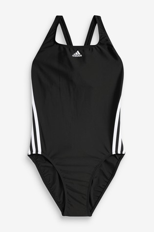 adidas SH3.RO Classis 3 Stripe Swimsuit