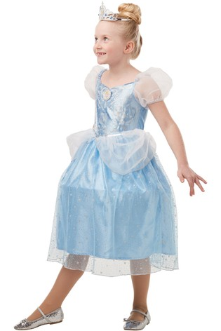 Rubies Glitter Sparkle Disney Princess Cinderella Fancy Dress Costume