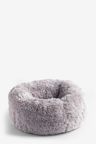 Faux Fur Donut Pet Bed
