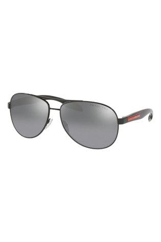 Prada Sport Black Sunglasses
