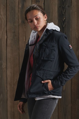 Superdry Classic Rookie Borg Jacket