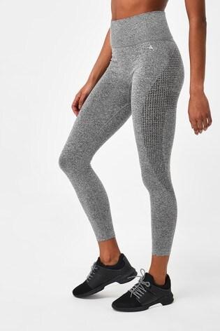 Charcoal Seamless Contour Leggings