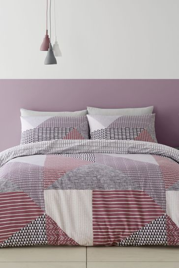 Larsson Geo Duvet Cover And Pillowcase Set by Catherine Lansfield