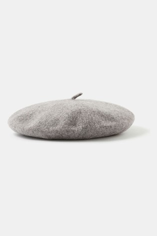Accessorize Beret Hat In Pure Wool