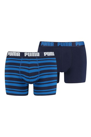Puma® Heritage Stripe Men's Boxers 2 Pack