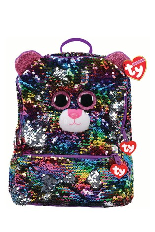 Ty Dotty Flippable Square Backpack