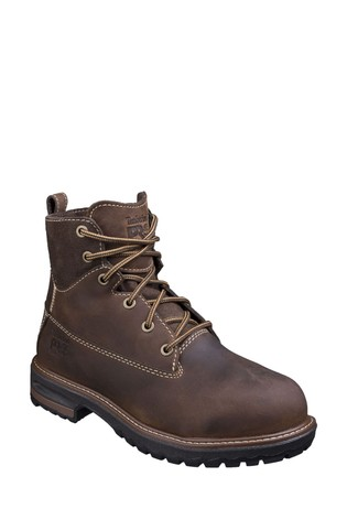 Timberland® Pro Brown Hightower Lace-Up Safety Boots