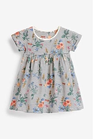 Multi Jersey Dress (3mths-8yrs)