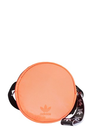 adidas Originals Neon Orange Circle Hip Bag