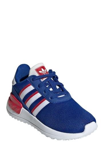 Buy adidas Originals Blue/Red LA