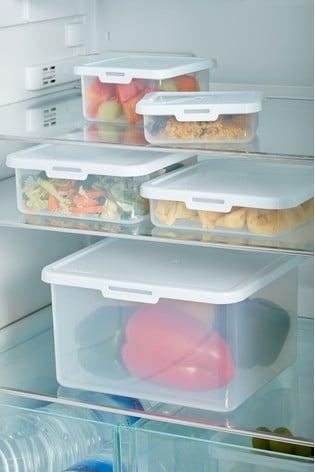 Set of 5 Food Locker Food Storage Boxes by Wham