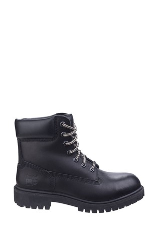 Timberland® Pro Black Direct Attach Lace-Up Safety Boots