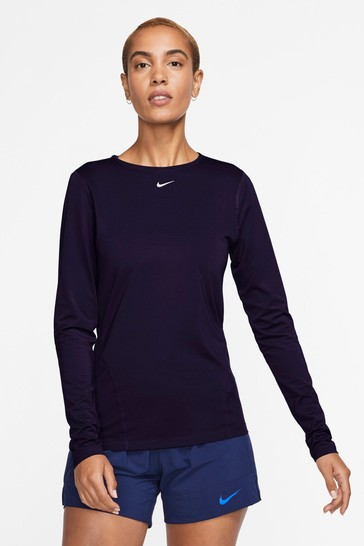 Nike Pro Long Sleeve Mesh Top