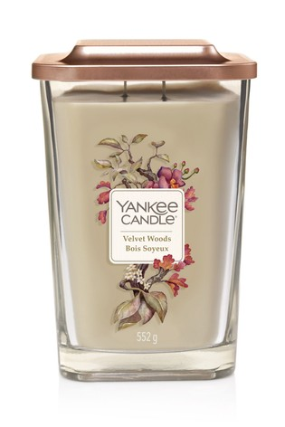 Yankee Candle Elevation Large Velvet Woods Candle