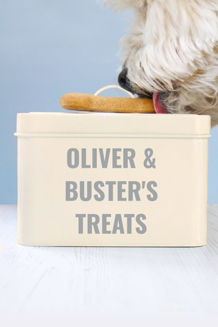 Personalised Pet Treat Tin by Jonny's Sister
