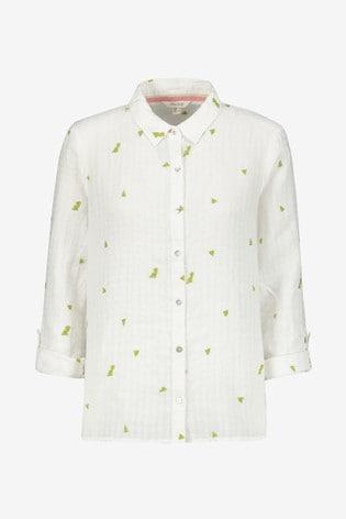 White Stuff White Kirby Linen Shirt