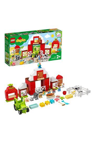 LEGO 10952 DUPLO Town Barn, Tractor & Farm Animal Care Toy