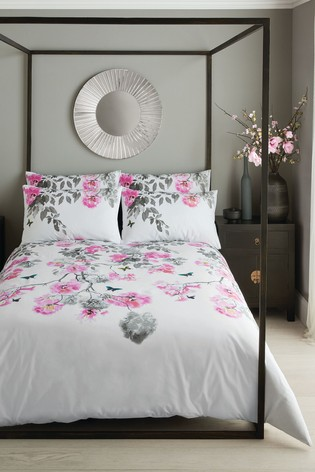Giovanna Fletcher Dreamy Floral Duvet Cover and Pillowcase Set
