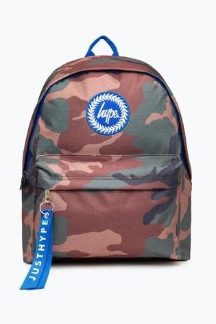 Hype. Camo Backpack