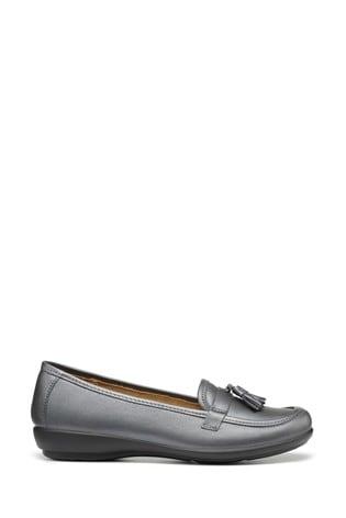Hotter Metallic Alice Slip-On Loafer/Moccasin Shoes