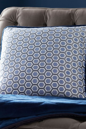 Tess Daly Hexagon Square Cushion