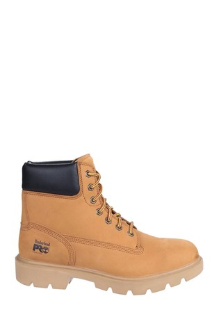 Timberland® Pro Brown Sawhorse Lace-Up Safety Boots