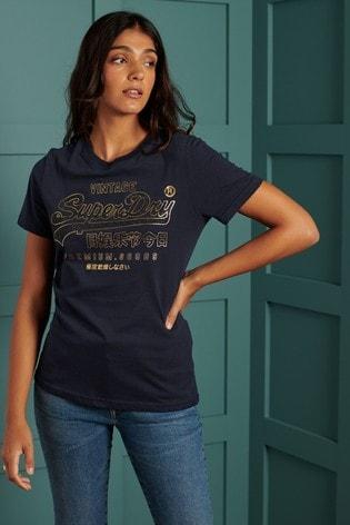 Superdry Vintage Logo Luster T-Shirt