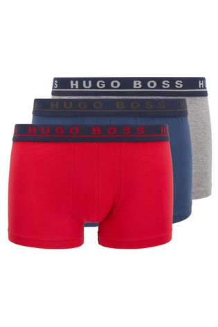 BOSS Blue Trunk Boxers Three Pack