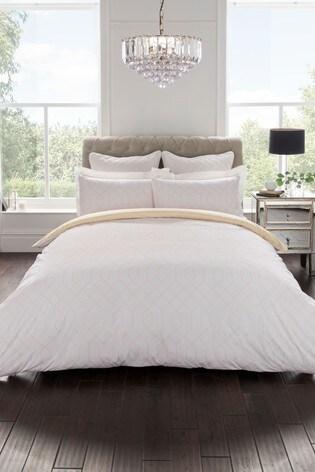 Sam Faiers Thea Geo Cotton Duvet Cover And Pillowcase