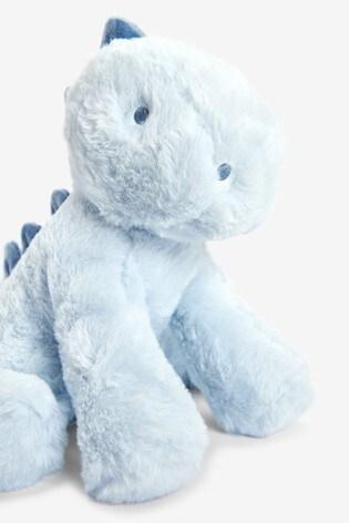 Blue Dinosaur Soft Toy (Newborn)