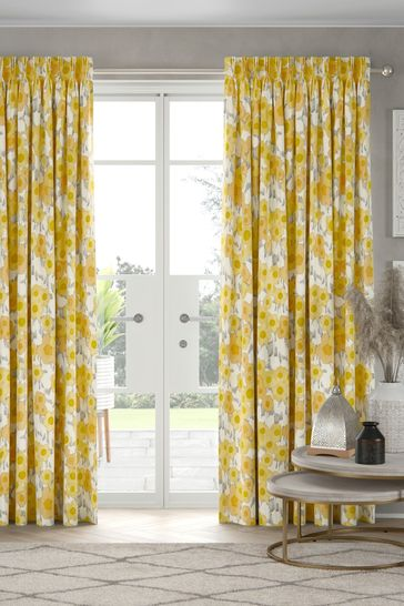 Scion Living Exclusively at Next Ranni Ochre Made to Measure Curtains