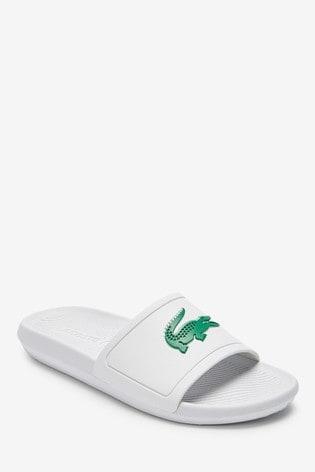 Lacoste® Croc Sliders