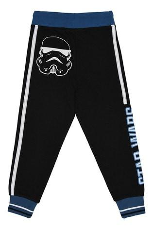 Fabric Flavour Black Star Wars™ Stormtrooper Pocket Joggers