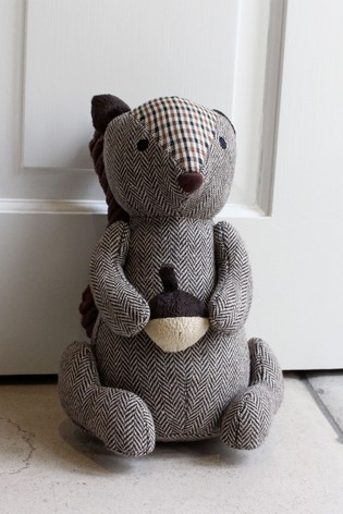 Check Squirrel Doorstop by Riva Home