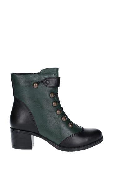 Riva Black Mincio Leather Long Boots