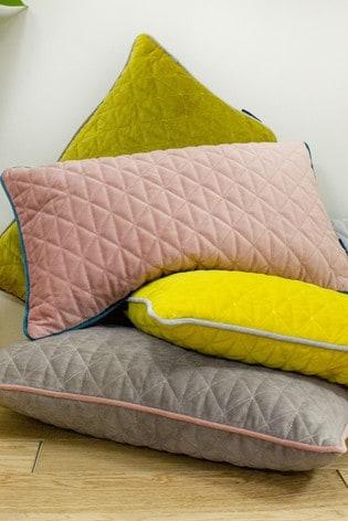 Riva Home Brown Quartz Cushion