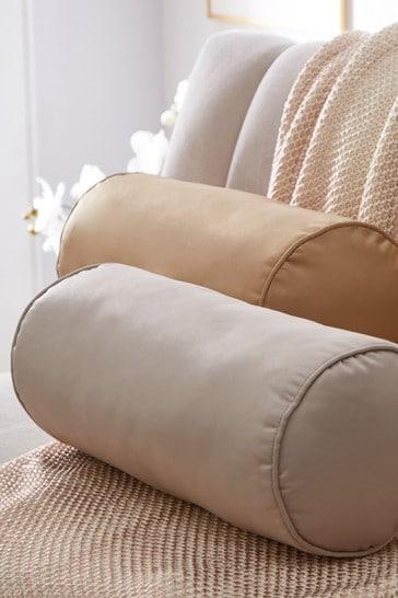 Tess Daly Mink Bolster Cushion