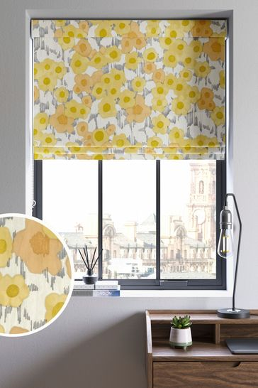 Scion Living Exclusively at Next Ranni Ochre Made to Measure Roman Blind