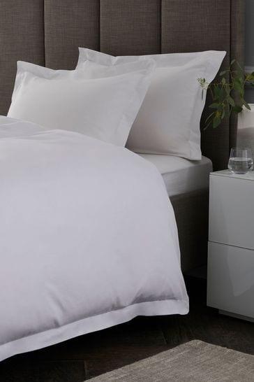 Cotton Rich Oxford Edge Duvet Cover and Pillowcase Set