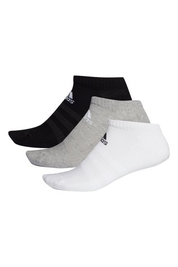 adidas Adults Cushioned Low Cut Socks Three Pack